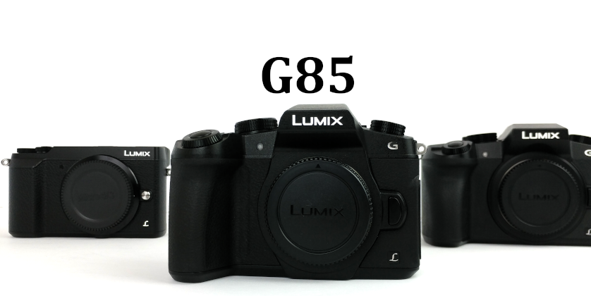 Panasonic Lumix G85, 4k Camera