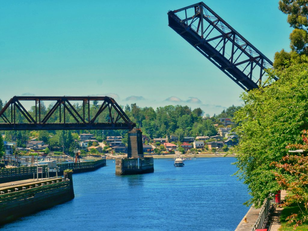Ballard Locks (Before SnapSeed)